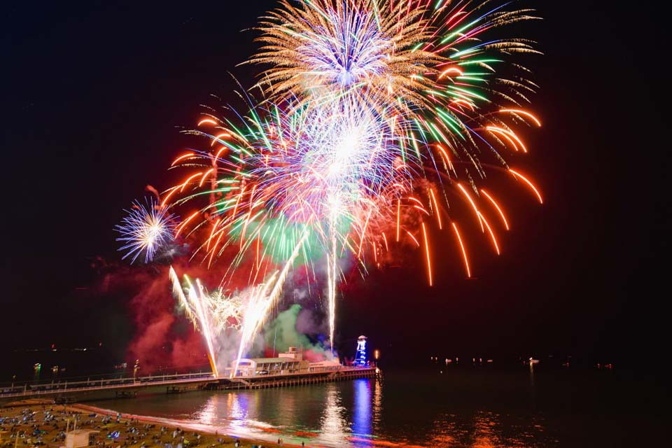 Bournemouth pier fireworks night - event management